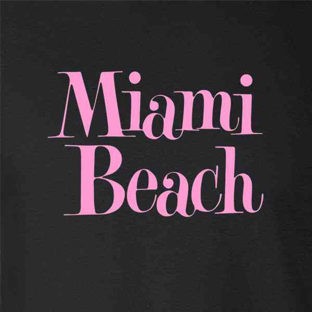 Miami Beach Retro Vintage Travel