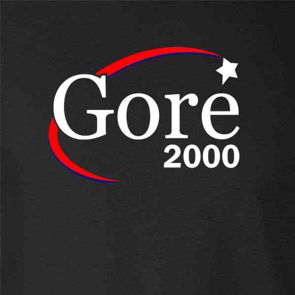 Al Gore For President Campaign Election 2000 Retro