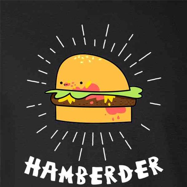 Hamberder Cartoon Hamburger Funny