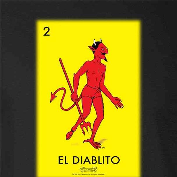 El Diablito Devil Loteria Card Mexican Bingo