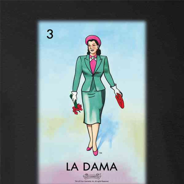 La Dama Woman Lady Loteria Card Mexican Bingo