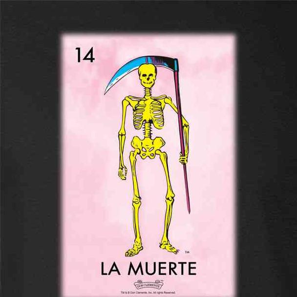 La Muerte Death Loteria Card Mexican Bingo