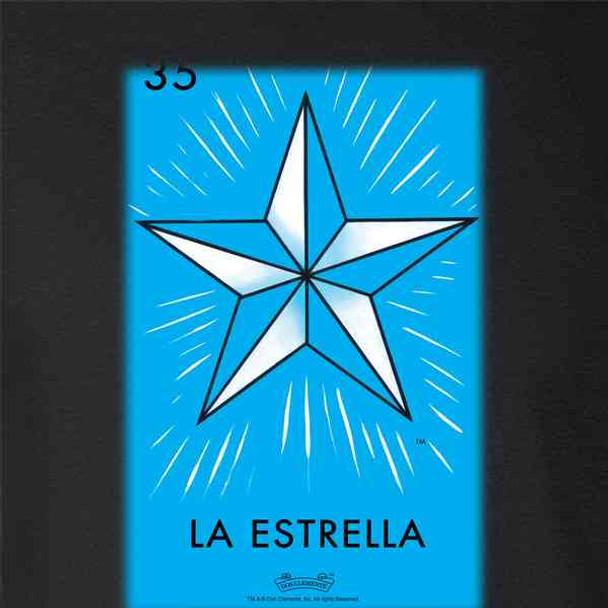 La Estrella Star Loteria Card Mexican Bingo