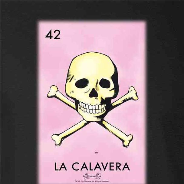 La Calavera Skull Loteria Card Mexican Bingo