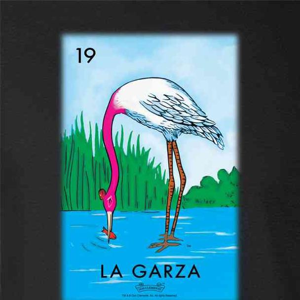 La Garza Heron Loteria Card Mexican Bingo
