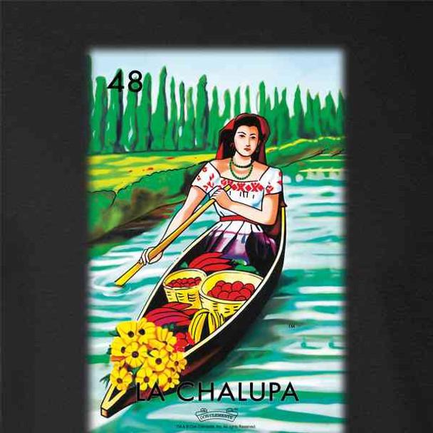 La Chalupa Boat Loteria Card Mexican Bingo