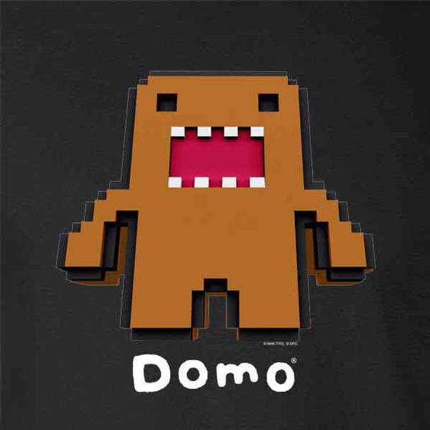Domo Towering Pixel Cute Funny Domo Kun