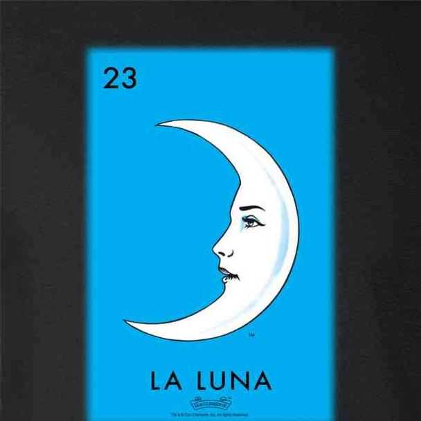 La Luna Moon Loteria Card Mexican Bingo