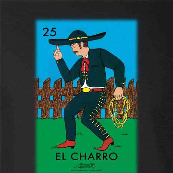 El Charro Cowboy Loteria Card Mexican Bingo