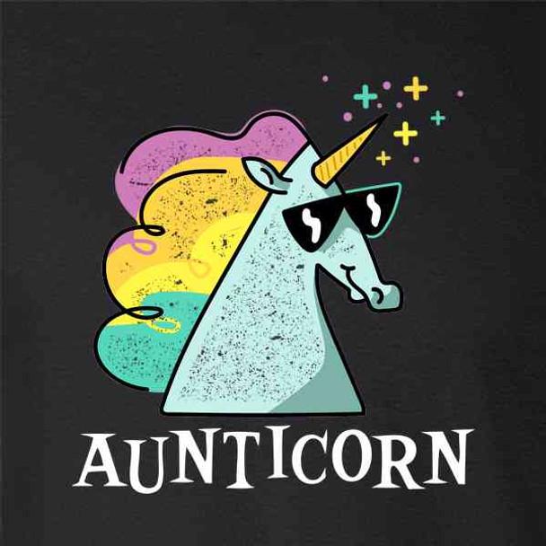 Aunticorn Unicorn Aunt Auntie Cute Gift For Mom