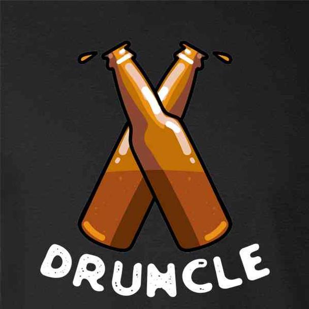 Druncle Drunk Uncle Funny Beer Gift For Dad