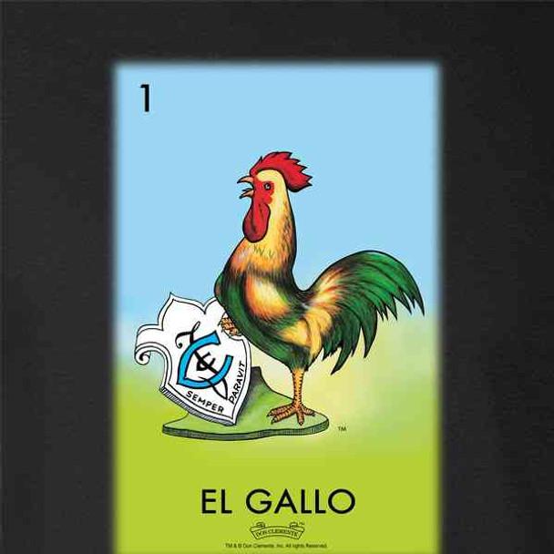 El Gallo Rooster Loteria Card Mexican Bingo
