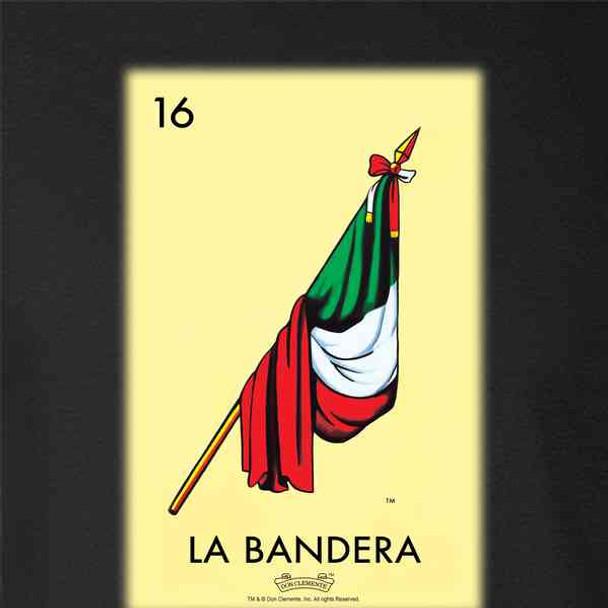 La Bandera Flag Loteria Card Mexican Bingo