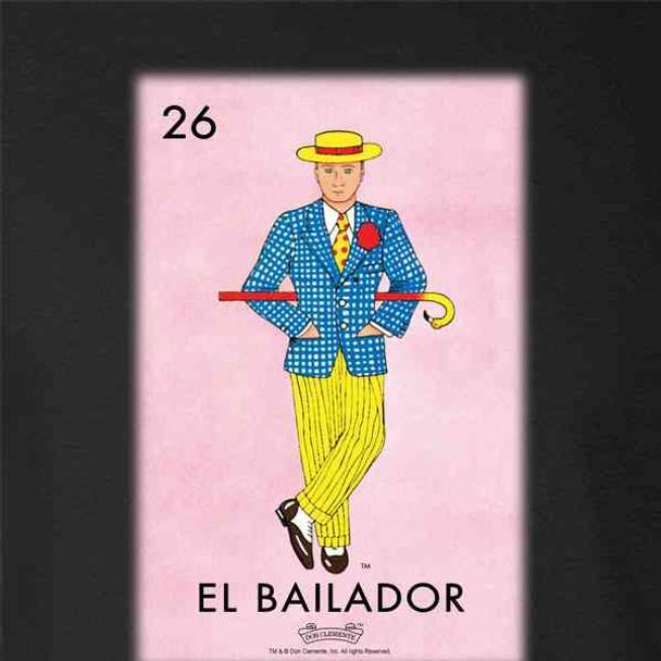 El Bailador Dancer Loteria Card Mexican Bingo
