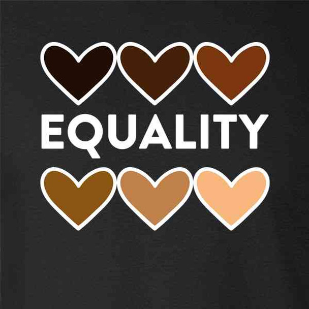 Equality Hearts Civil Rights Equal