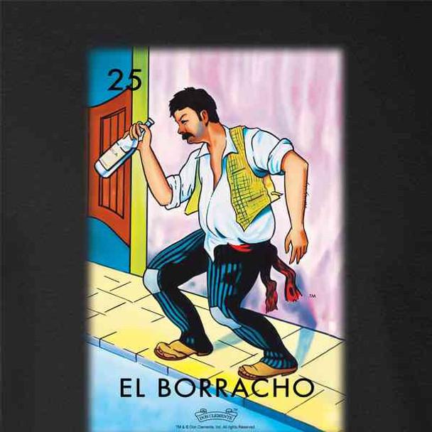 El Borracho Drunk Loteria Card Mexican Bingo