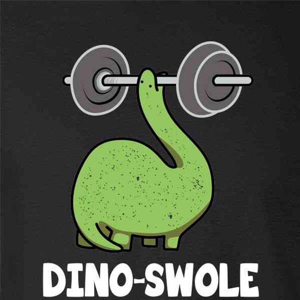 Dino-Swole Dinosaur Working Out Funny