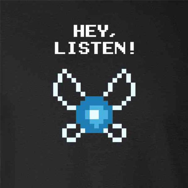 Hey Listen! Navi Video Gaming Gamer Funny