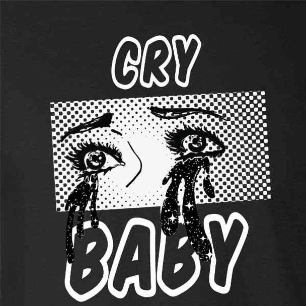 Cry Baby Retro Aesthetic Pop Art