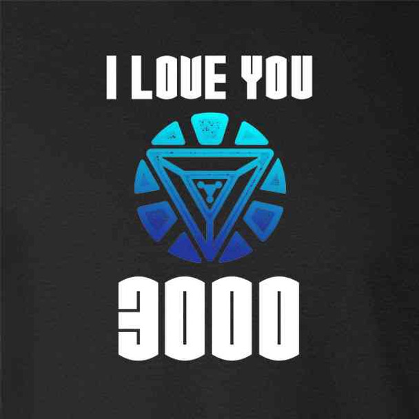 I Love You 3000 Gift For Dad Superhero