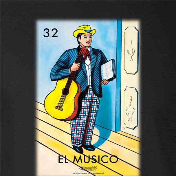 El Musico Musician Loteria Card Mexican Bingo