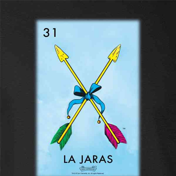 La Jaras Arrows Loteria Card Mexican Bingo