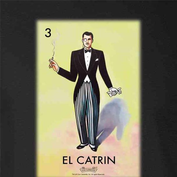 El Catrin Dandy Loteria Card Mexican Bingo