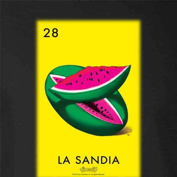 La Sandia Watermelon Loteria Card Mexican Bingo