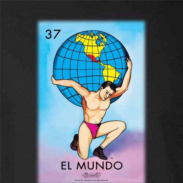 El Mundo Earth Loteria Card Mexican Bingo
