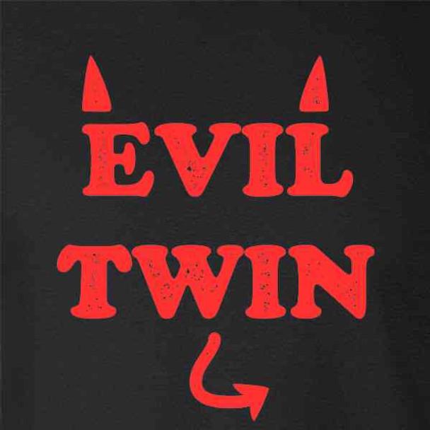 Evil Twin Devil Funny Cute
