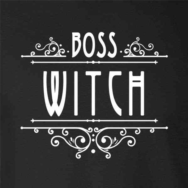 Boss Witch Funny Cute Feminist
