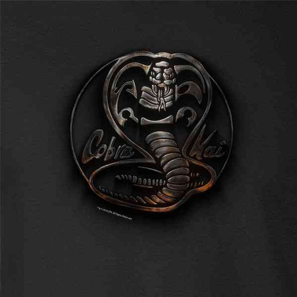 Cobra Kai Dojo Metal Logo Martial Arts Costume