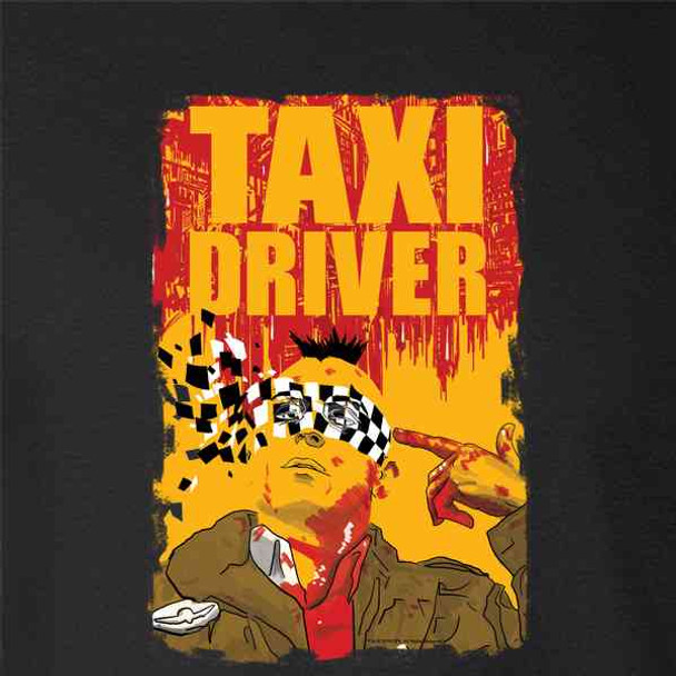 Taxi Driver Bloody Movie Poster