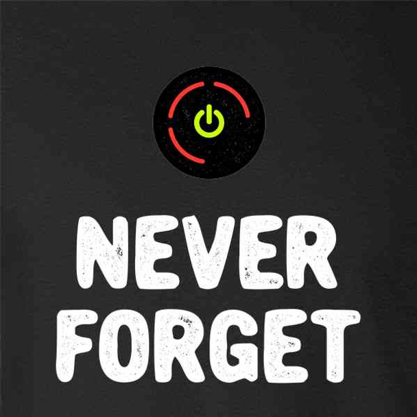 Red Ring of Death Never Forget XB Gamer
