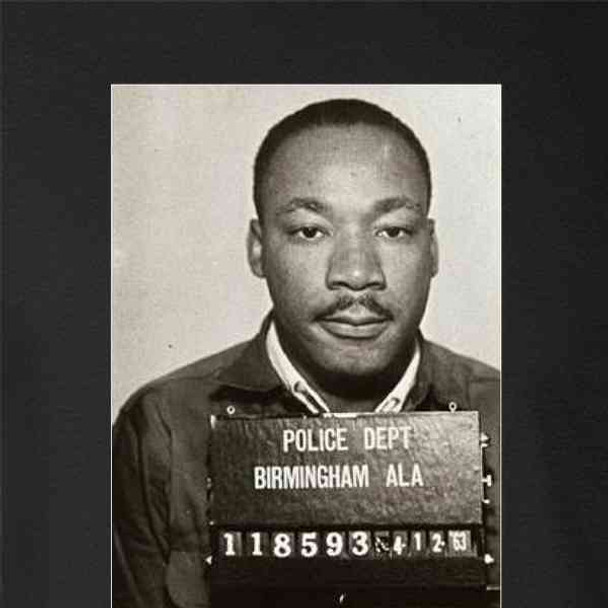 Dr Martin Luther King Jr Mugshot Civil Rights