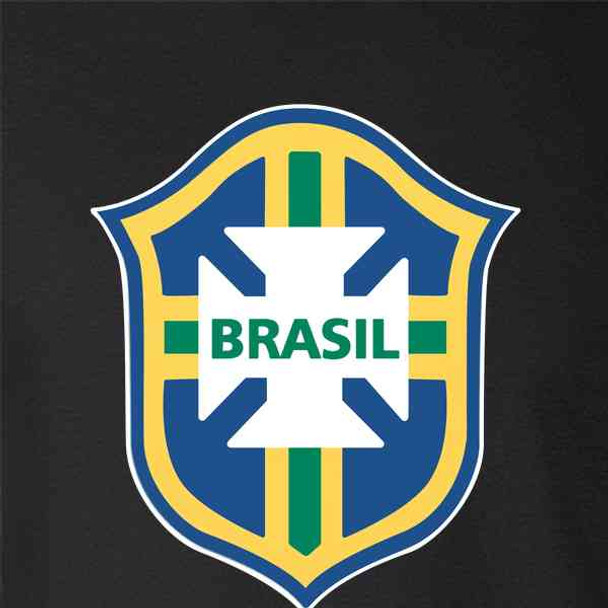 Brazil Futbol Soccer National Team Football Crest