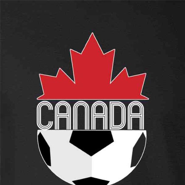 Canada Soccer Retro National Team Crest