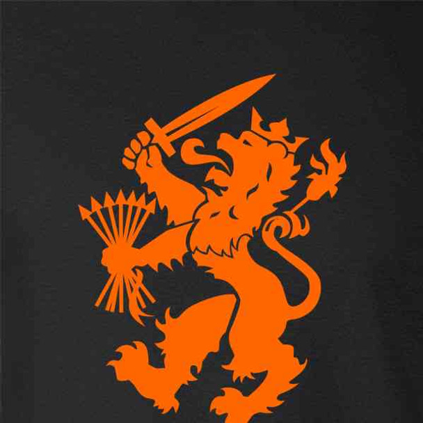 Holland Soccer Dutch Lion National Team Crest
