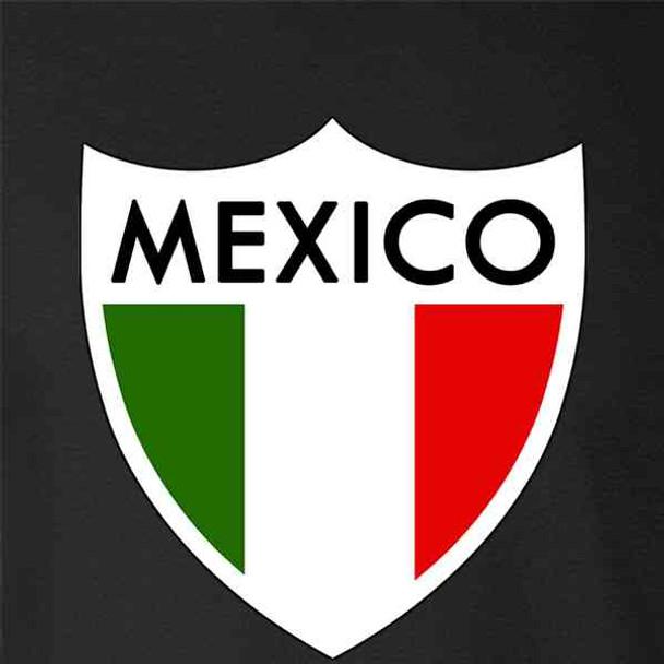 Mexico Futbol Soccer National Team Retro Crest