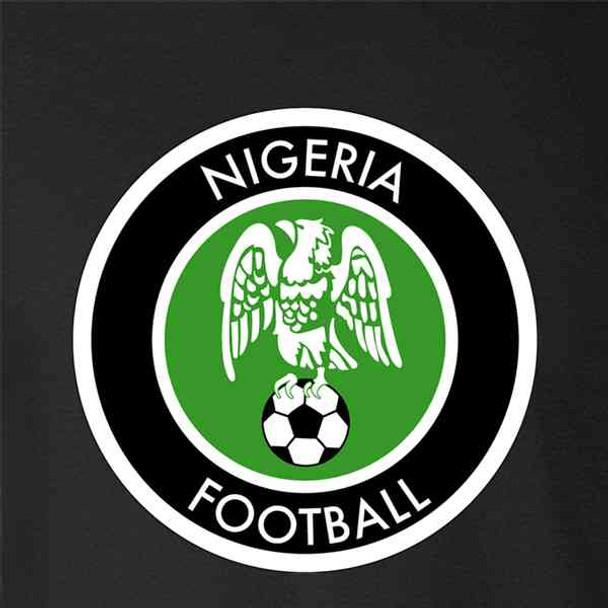 Nigeria Soccer National Team Retro Crest