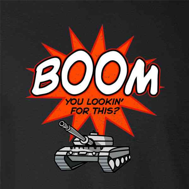 Boom You Lookin For This? Tank Funny Superhero