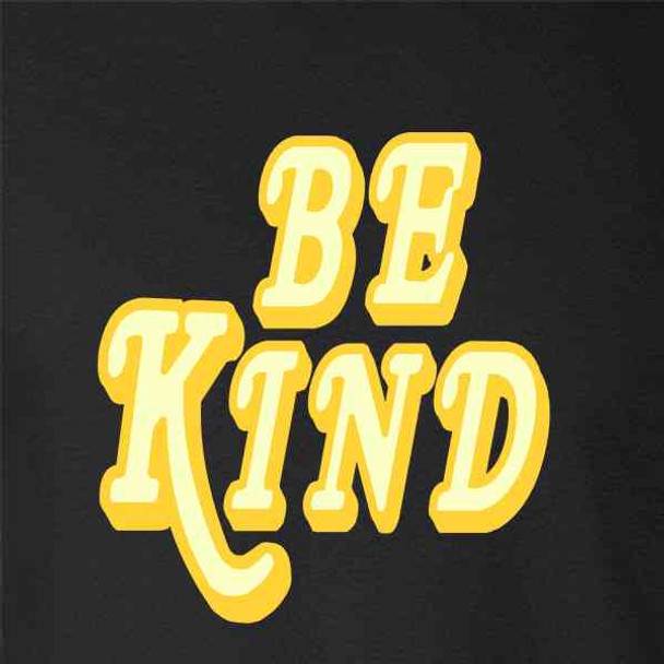 Be Kind Retro Text Cute Vintage Style
