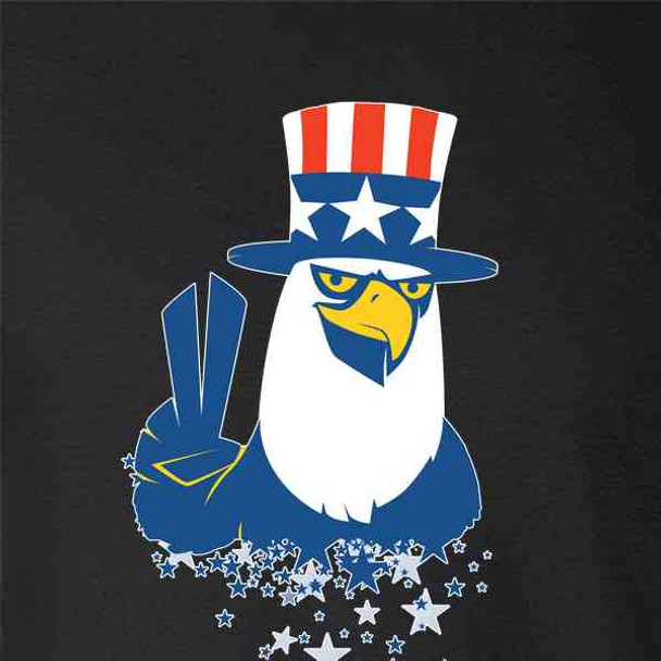 American Eagle Patriotic Funny 4th of July
