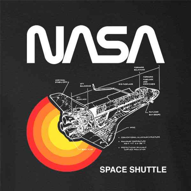 Space Shuttle Diagram NASA Approved