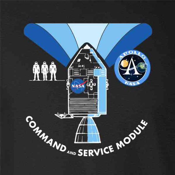 NASA Approved Apollo Command Module Diagram