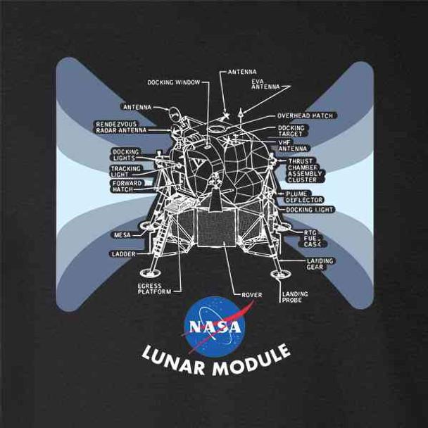 NASA Approved Lunar Module Diagram Apollo 11 Moon