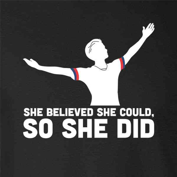 She Believed She Could So She Did USA Soccer