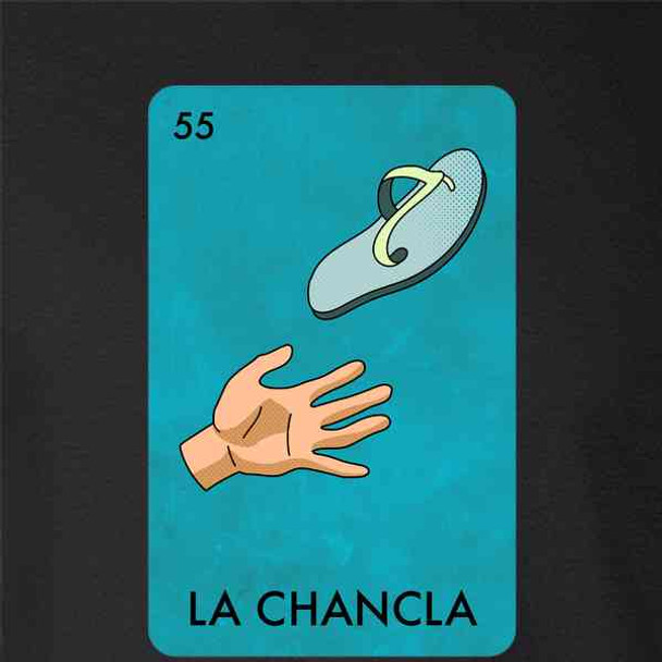 La Chancla Sandal Mexican Lottery Funny Parody Abuela Mama