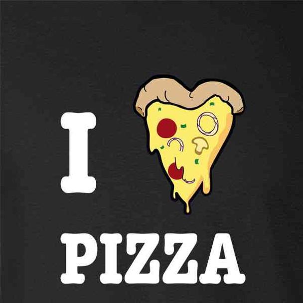 I Love Pizza Heart Slice Favorite Food