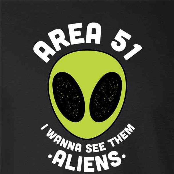 Storm Area 51 I Wanna See Them Aliens Funny Meme